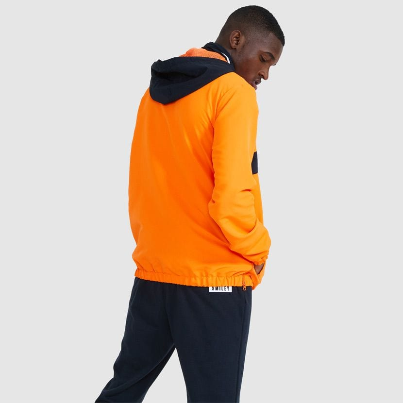 ellesse Fistinu Zip Jacket Neon Orange ELL9230 V5