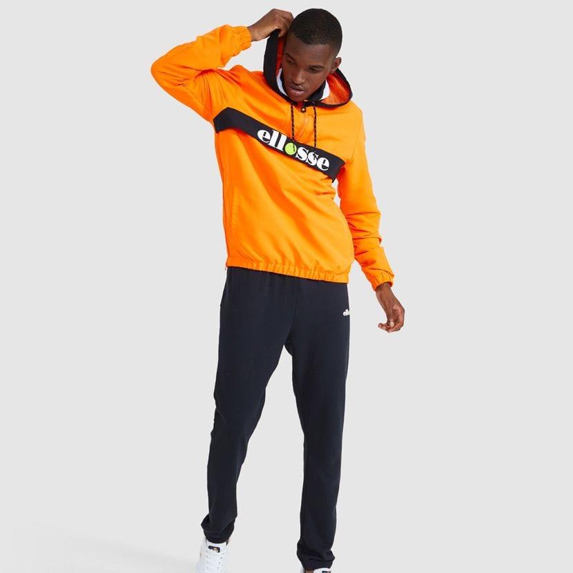 ellesse Fistinu Zip Jacket Neon Orange ELL9230 V7