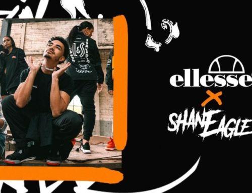 ellesse x Shane Eagle – Dark Moon Flower Merch Collaboration