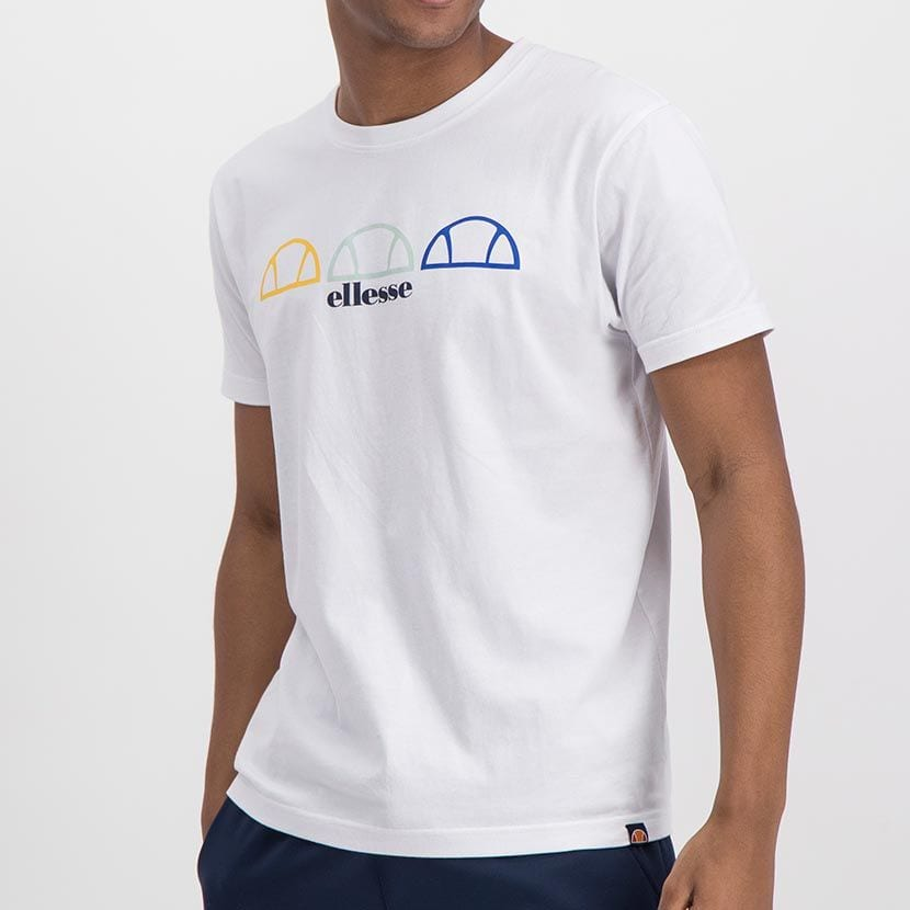 ELL1001W ELLESSE REPEAT LOGO TEE ELS20 0137A Top CR2 6 7
