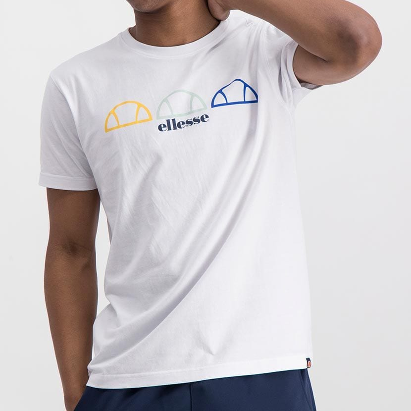 ELL1001W ELLESSE REPEAT LOGO TEE ELS20 0137A Top CR2 6 8