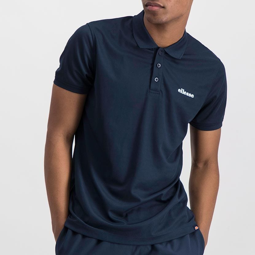 ELL1013DB ELLESSE MENS BACK CHEST PRINT GOLFER ELS20 0051A Top CR2 10 1