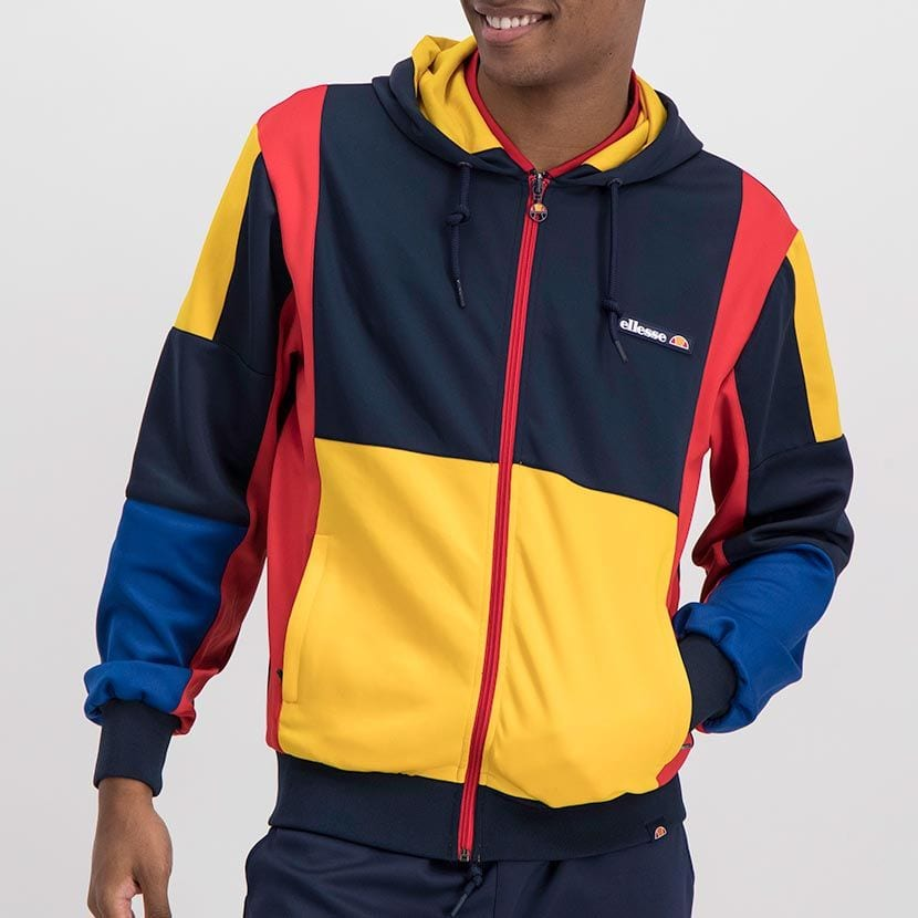 ELL1023DB ELLESSE MENS CONTRAST COLOR HOODED FASHION JERSEY ELS20 0057A Full CR2 1 6