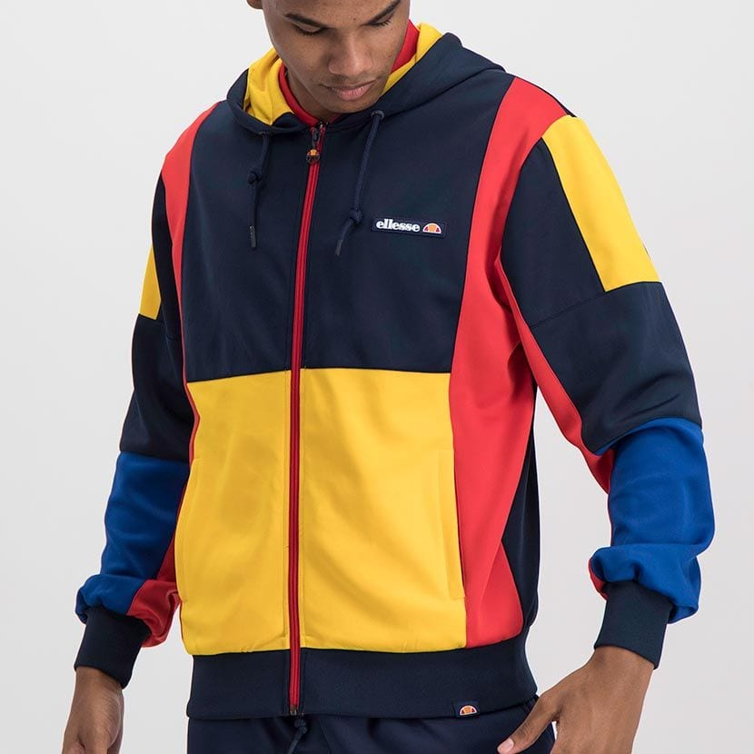 ELL1023DB ELLESSE MENS CONTRAST COLOR HOODED FASHION JERSEY ELS20 0057A Full CR2 1 7