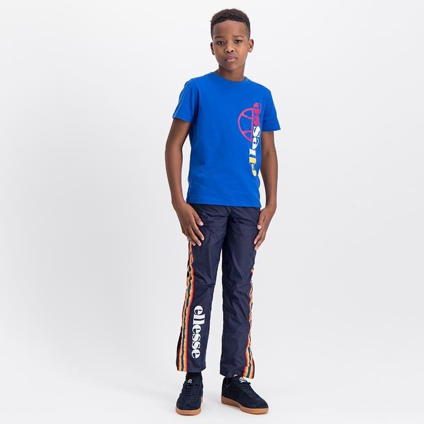 ELL1043YDB ELLESSE BOYS RAINBOW SIDE LEG PANNEL FASHION PANTS ELS20 0102BB Full CR2 10 7