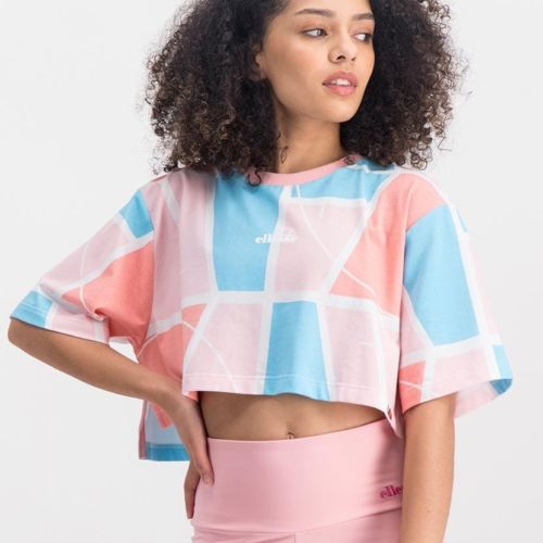 ELL1047AB ELLESSE CROP TOP WITH STEP HEM ELS20 519AL 19 3