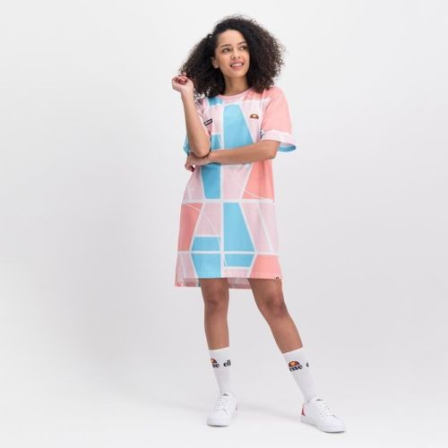 ELL1052P ELLESSE T SHIRT DRESS AOP ELS20 510AL 99 3