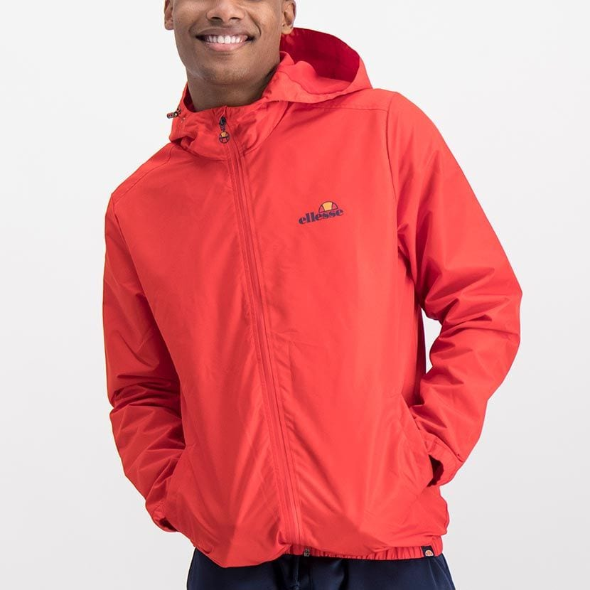 ELL868R ELLESSE MENS CROSS STITCH NYLON HOODED CORE JACKET ELW20 008A Full CR2 1 5