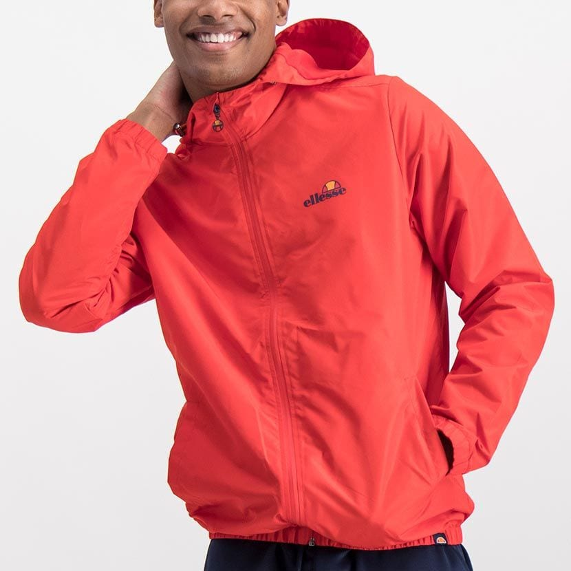 ELL868R ELLESSE MENS CROSS STITCH NYLON HOODED CORE JACKET ELW20 008A Full CR2 1 6