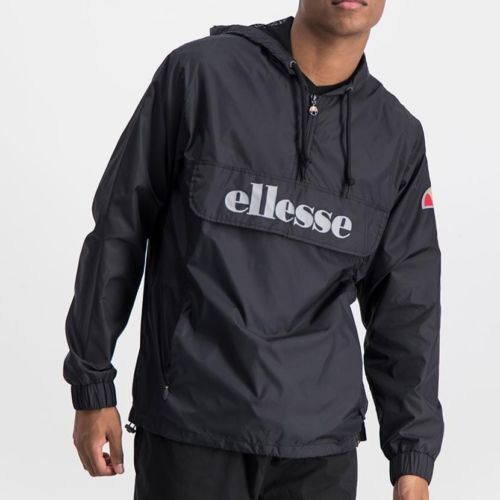 ELL871B ELLESSE MENS 3 4 ZIP FLAP POCKET HOODED JACKET WITH INVISIBLE SIDE ZIPS ELW20 302A Full CR2 4 6