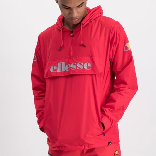 ELL871R ELLESSE MENS 3 4 ZIP FLAP POCKET HOODED JACKET WITH INVISIBLE SIDE ZIPS ELW20 302A Full CR2 1 5