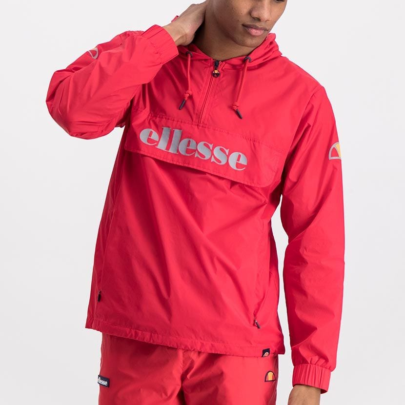 ELL871R ELLESSE MENS 3 4 ZIP FLAP POCKET HOODED JACKET WITH INVISIBLE SIDE ZIPS ELW20 302A Full CR2 1 6