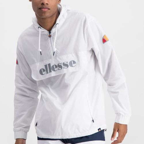 ELL871W ELLESSE MENS 3 4 ZIP FLAP POCKET HOODED JACKET WITH INVISIBLE SIDE ZIPS ELW20 302A Full CR2 1 5