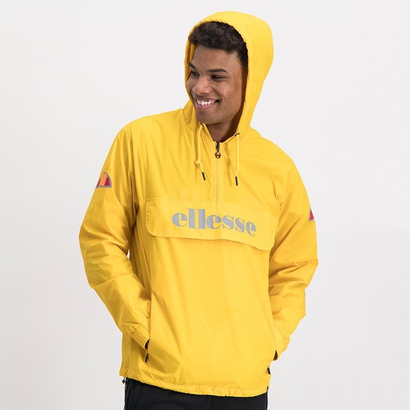 ELL871Y ELLESSE MENS 3 4 ZIP FLAP POCKET HOODED JACKET WITH INVISIBLE SIDE ZIPS ELW20 302A Full CR2 2 7