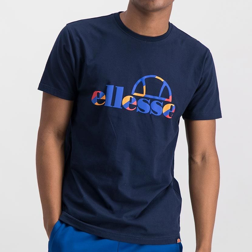 ELL973DB ELLESSE INSET COLOR LOGO T ELS20 0116A Top CR2 1