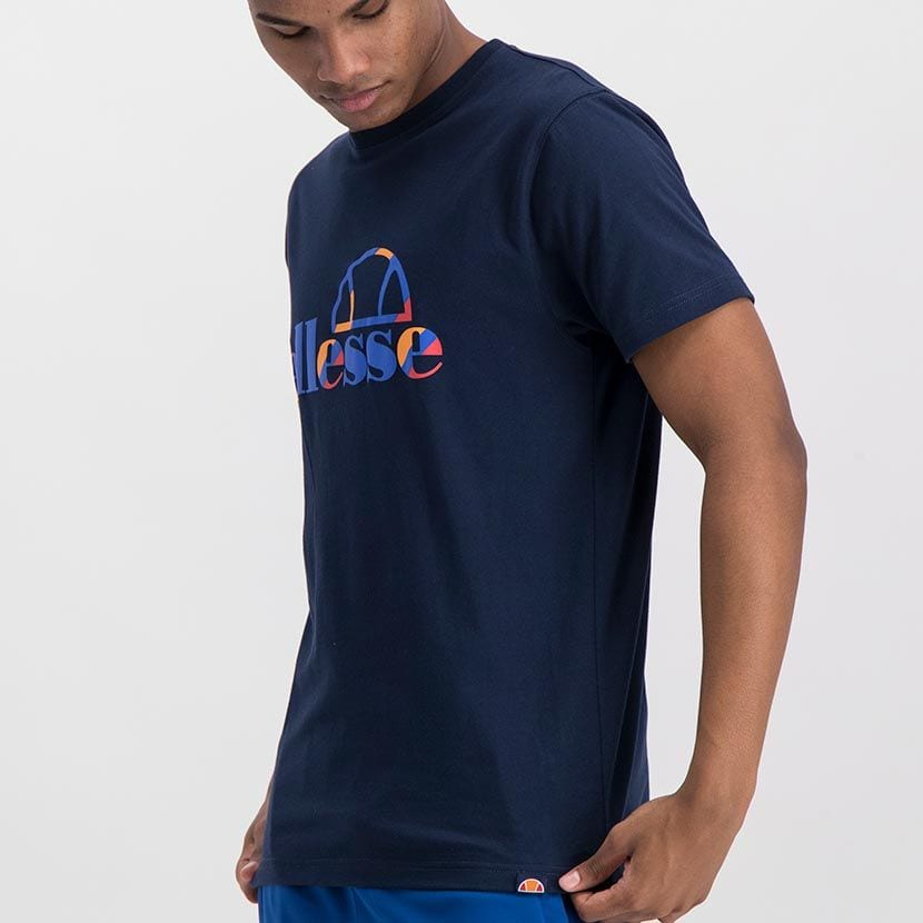 ELL973DB ELLESSE INSET COLOR LOGO T ELS20 0116A Top CR2 2