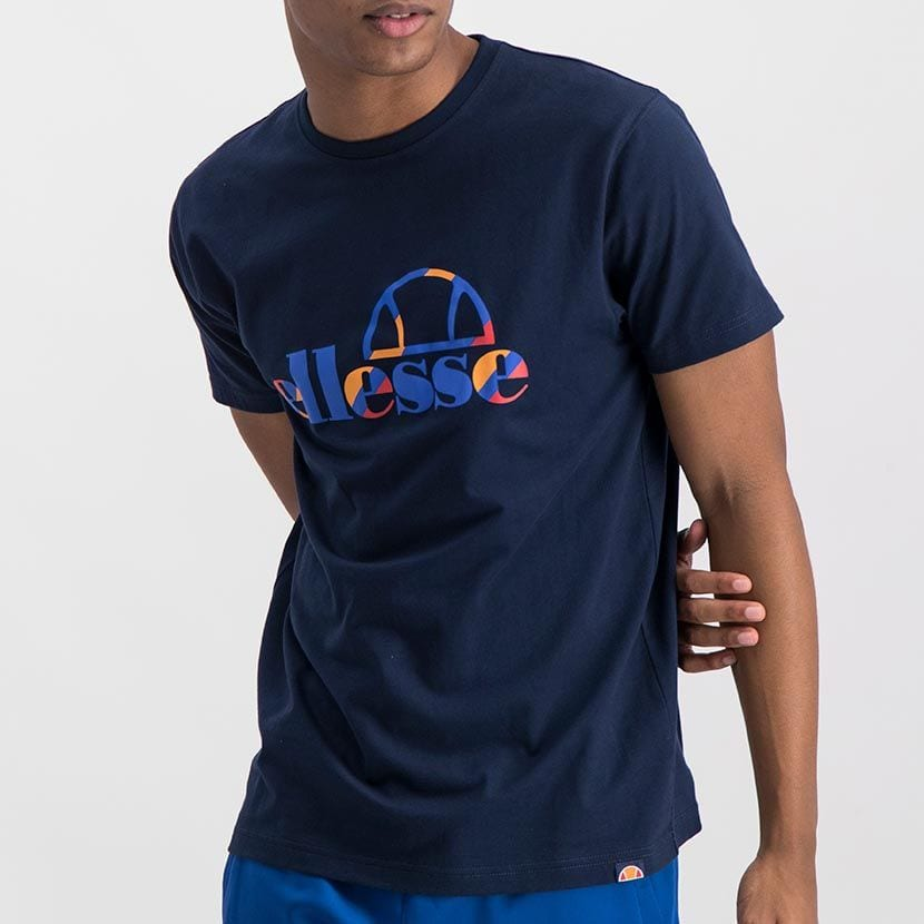 ELL973DB ELLESSE INSET COLOR LOGO T ELS20 0116A Top CR2 4