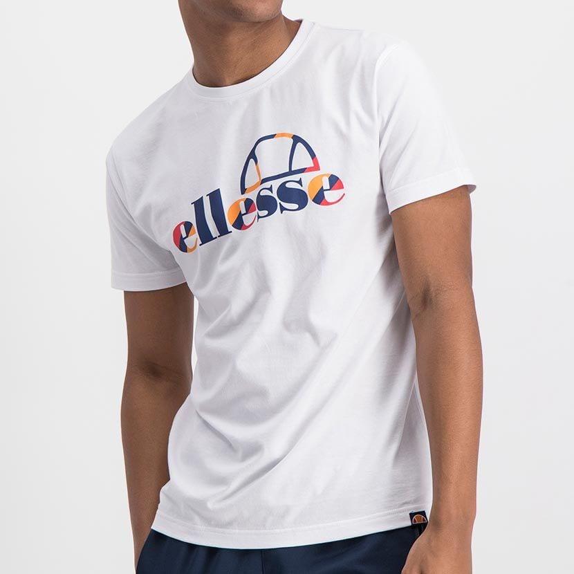 ELL973W ELLESSE INSET COLOR LOGO T ELS20 0116A Top CR2 4