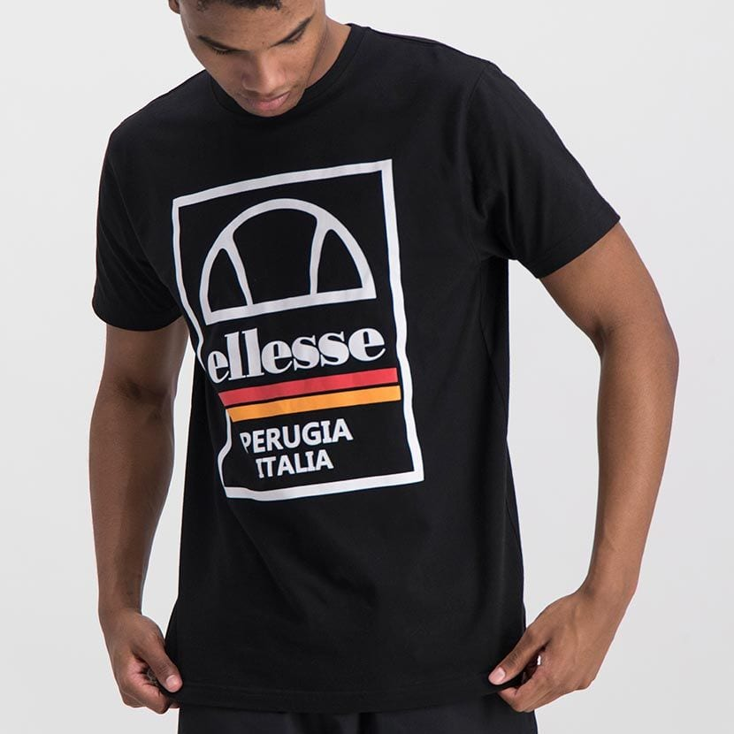 ELL974B ELLESSE BOX LOGO DOUBLE STRIPE T ELS20 0117A Full CR2 1 8