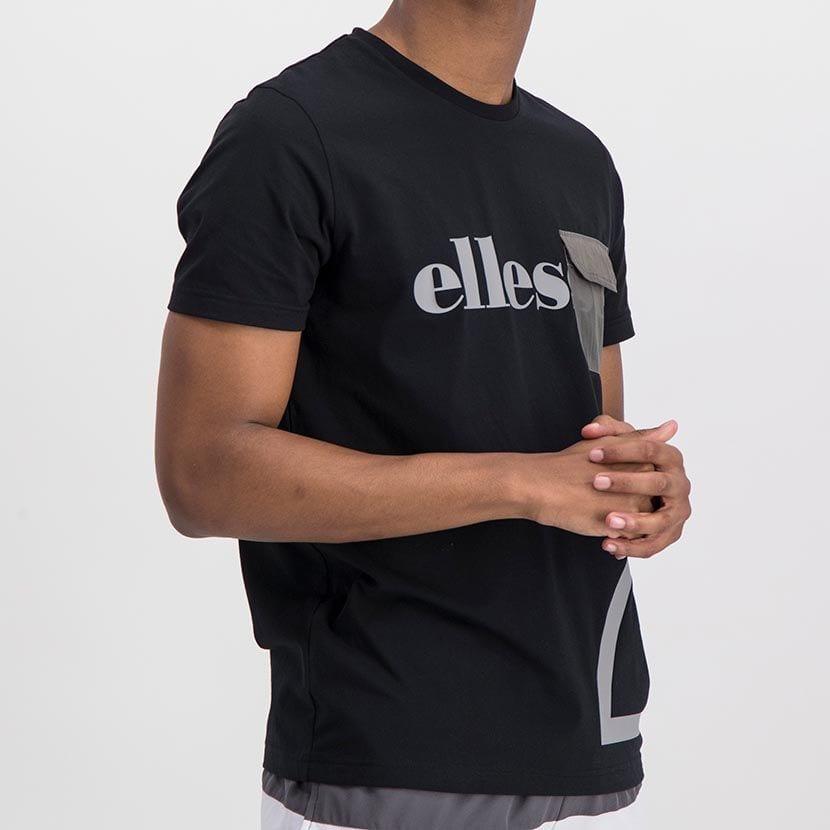 ELL977B ELLESSE CONTRAST PRINT NYLON FLAP POCKET FASHION T ELS20 0026A Full CR2 1 5
