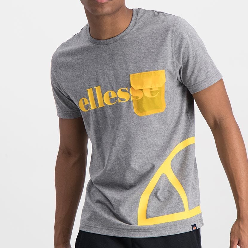 ELL977G ELLESSE CONTRAST PRINT NYLON FLAP POCKET FASHION T ELS20 0026A Top CR2 6 6