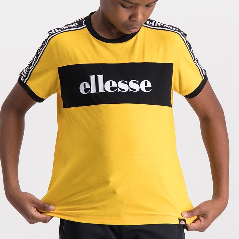 ELL984YB ELLESSE TAPED TEE ELS20 0166AB Top CR2 7 6