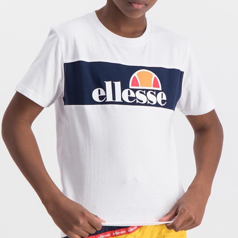 ELL998YW ELLESSE BOYS LARGE INSET WORD LOGO T BLACK FRIDAY  ELS20 0110AB Top CR2 4 7