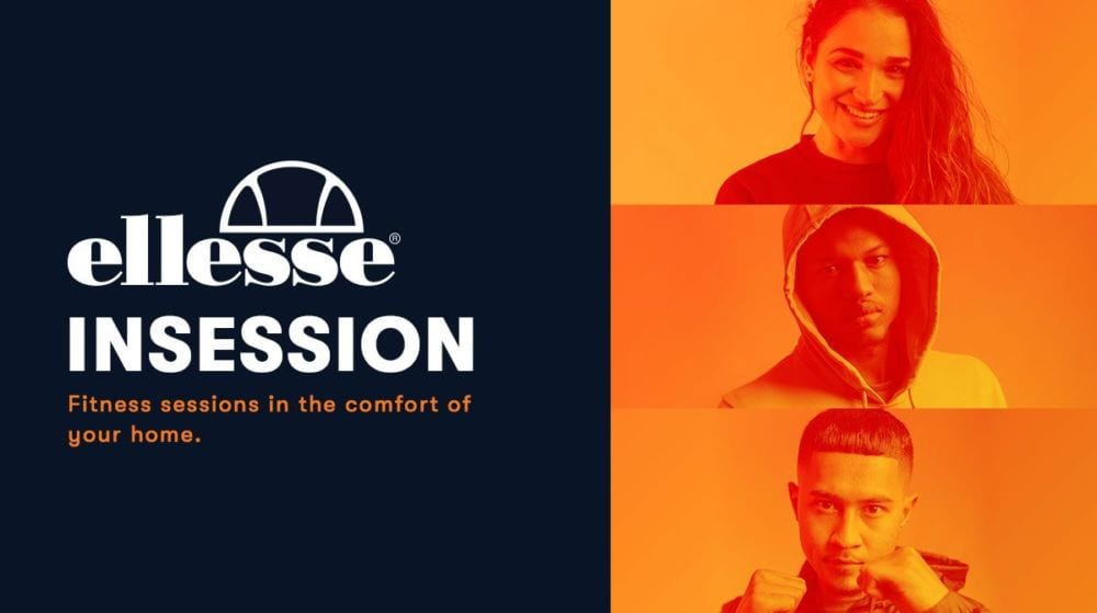 ellesse InSession Blog header