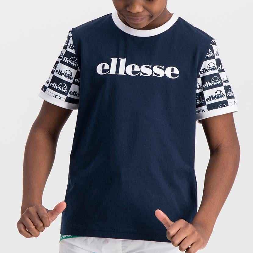 ELL1063YDB BOYS CONTARST SUBLIMATION SLEEVE PRINT LOGO T ELS20 0010AB Top CR2 3