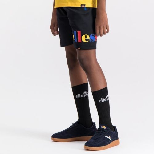 ELL1083YB BOYS CONTARST ZIP 3 COLOR PRINT SHORTS ELS20 0021BB Bottom CR2 1