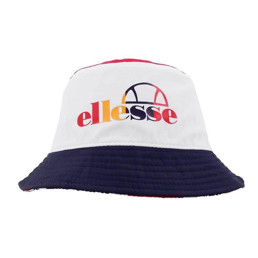 ELL1106RW ELLESSE REVERSABLE BUCKET HAT FIERY RED ELS20 201C V1