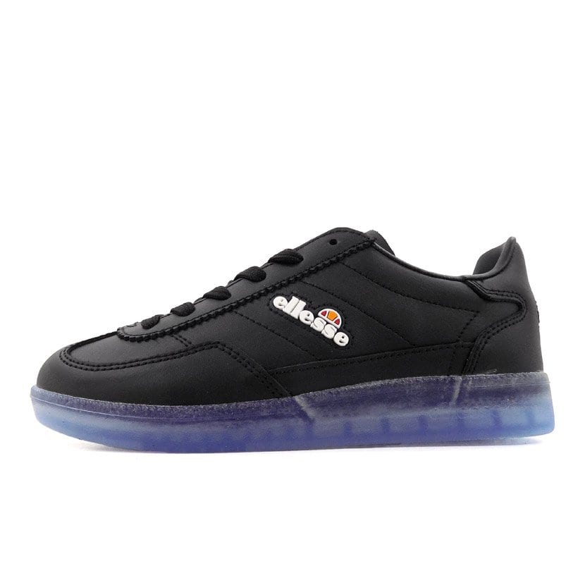 ELL356BKB ELLESSE CALCIO MENS BLACK TRANSPARENT BLUE SHFU0295 V5 2