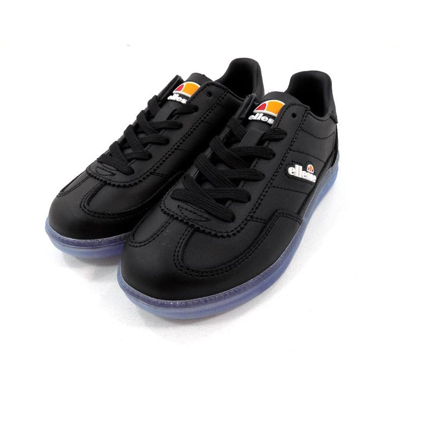 ELL356BKB ELLESSE CALCIO MENS BLACK TRANSPARENT BLUE SHFU0295 V5 4
