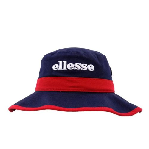 ELL1108NR ELLESSE WIDE BRIM FASHION BUCKET HAT ELS20 205C NAVY RED V1