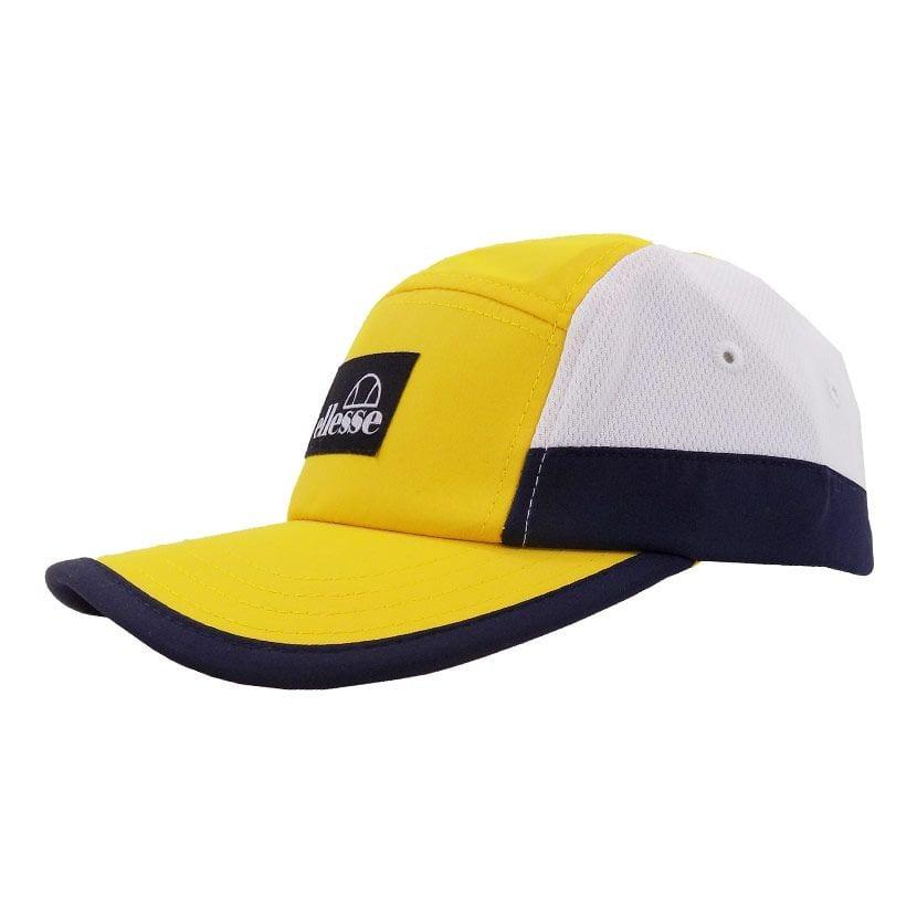 ELL1110YW ELLESSE 5 PANEL FASHION CAP YELLOW WHITE ELS20 255CB V2