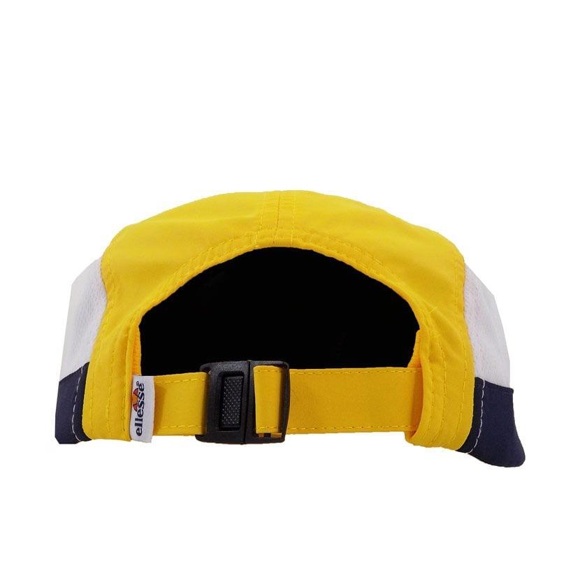 ELL1110YW ELLESSE 5 PANEL FASHION CAP YELLOW WHITE ELS20 255CB V3