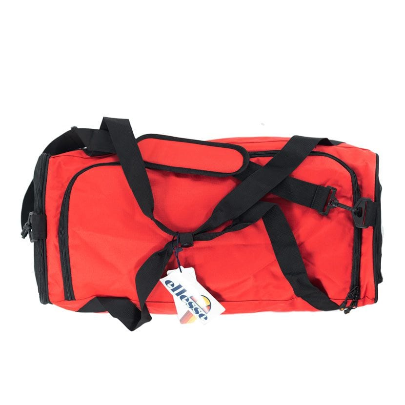 ELL1120R ELLESSE DUFFEL BAG FIERY RED ELS20 243C V3