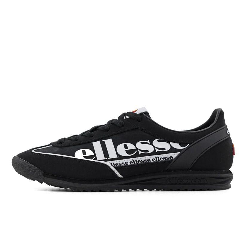ELL1125YB ELLESSE MONZA 2 BLACK WHITE SHFU0750 V1