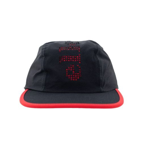 ELL728BF-ELLESSE-PUNCH-HOLE-LASER-CUT-CAP-BLACK-FIERY-RED-ELS19656C-V1