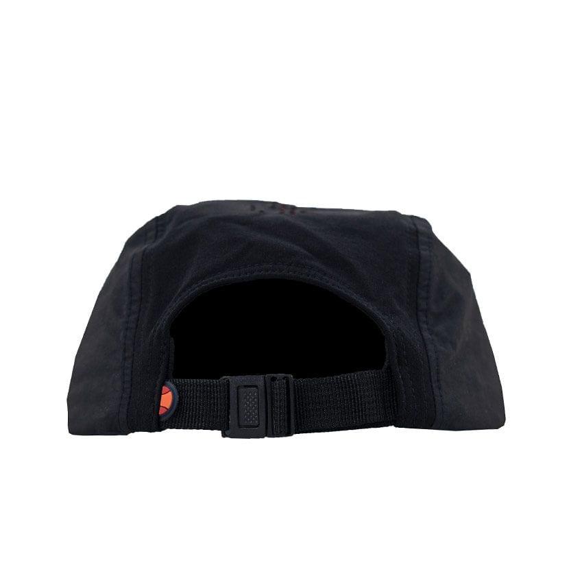 ELL728BF ELLESSE PUNCH HOLE LASER CUT CAP BLACK FIERY RED ELS19656C V3