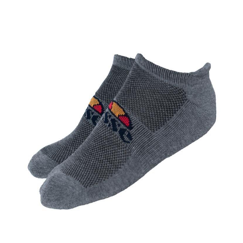 ELL833WB-ellesse-3-Pack-Trainer-Liners-Socks-White-Black-Grey-V1