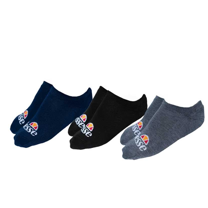 ELL835BN ellesse 3 Pack Trainer Liners Socks V1 4