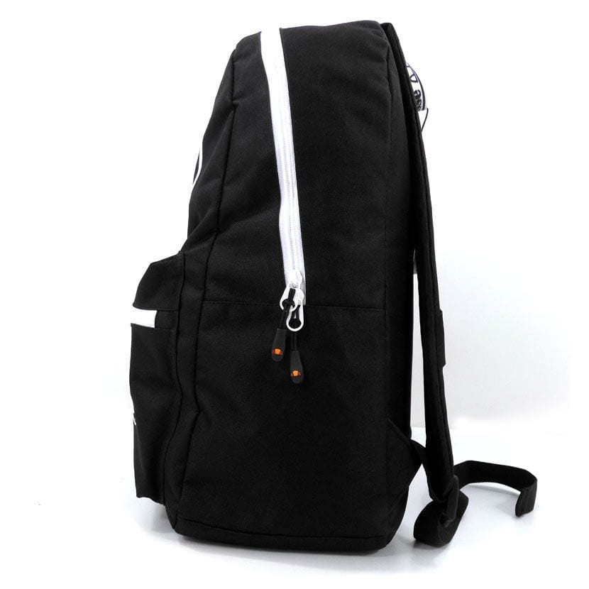 ELL948B ellesse Basic Backpack Front Zip Black ELW20 401C V2