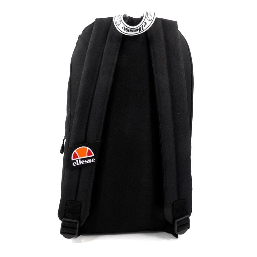 ELL948B ellesse Basic Backpack Front Zip Black ELW20 401C V3