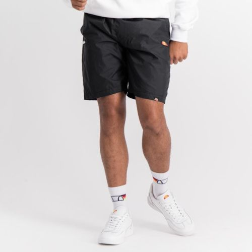 ELL889B ELLESSE RUBBER BADGE BASIC SHORTS BLACK ELW20 010B V2