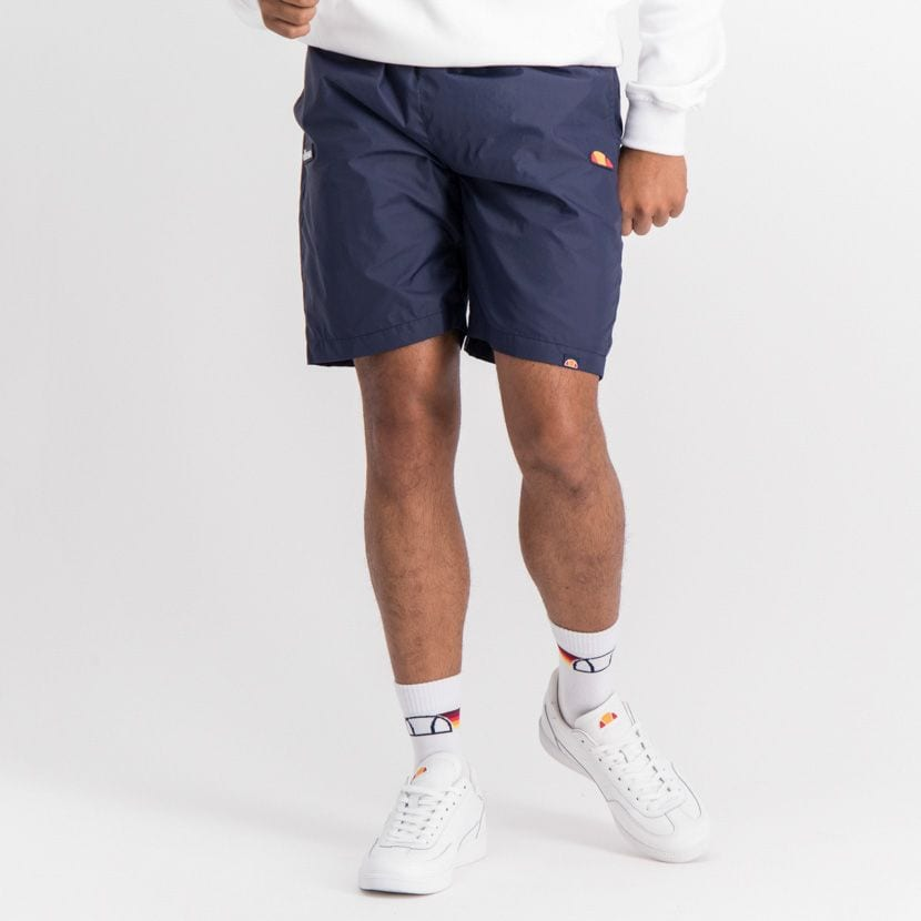 ELL889DB ELLESSE RUBBER BADGE BASIC SHORTS ELW20 010B  15 3