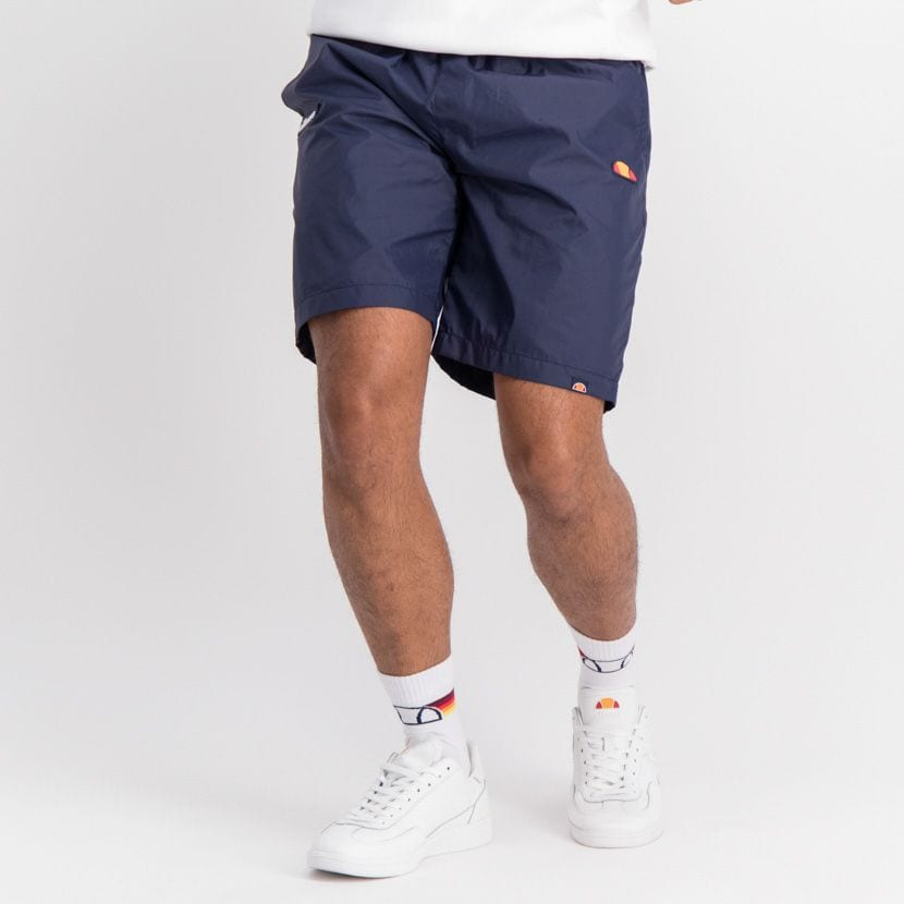 ELL889DB ELLESSE RUBBER BADGE BASIC SHORTS ELW20 010B  15 4