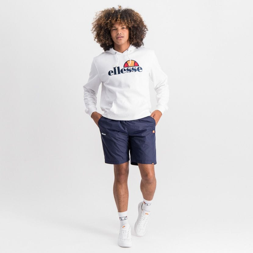 ELL889DB ELLESSE RUBBER BADGE BASIC SHORTS ELW20 010B  15 7