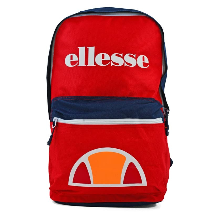 ELL739R ELLESSE COLOUR BLOCKED BACKPACK RED V1