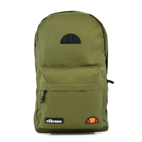 ELL953GR ELLESSE RUBBER BADGE BACKPACK GREEN V1